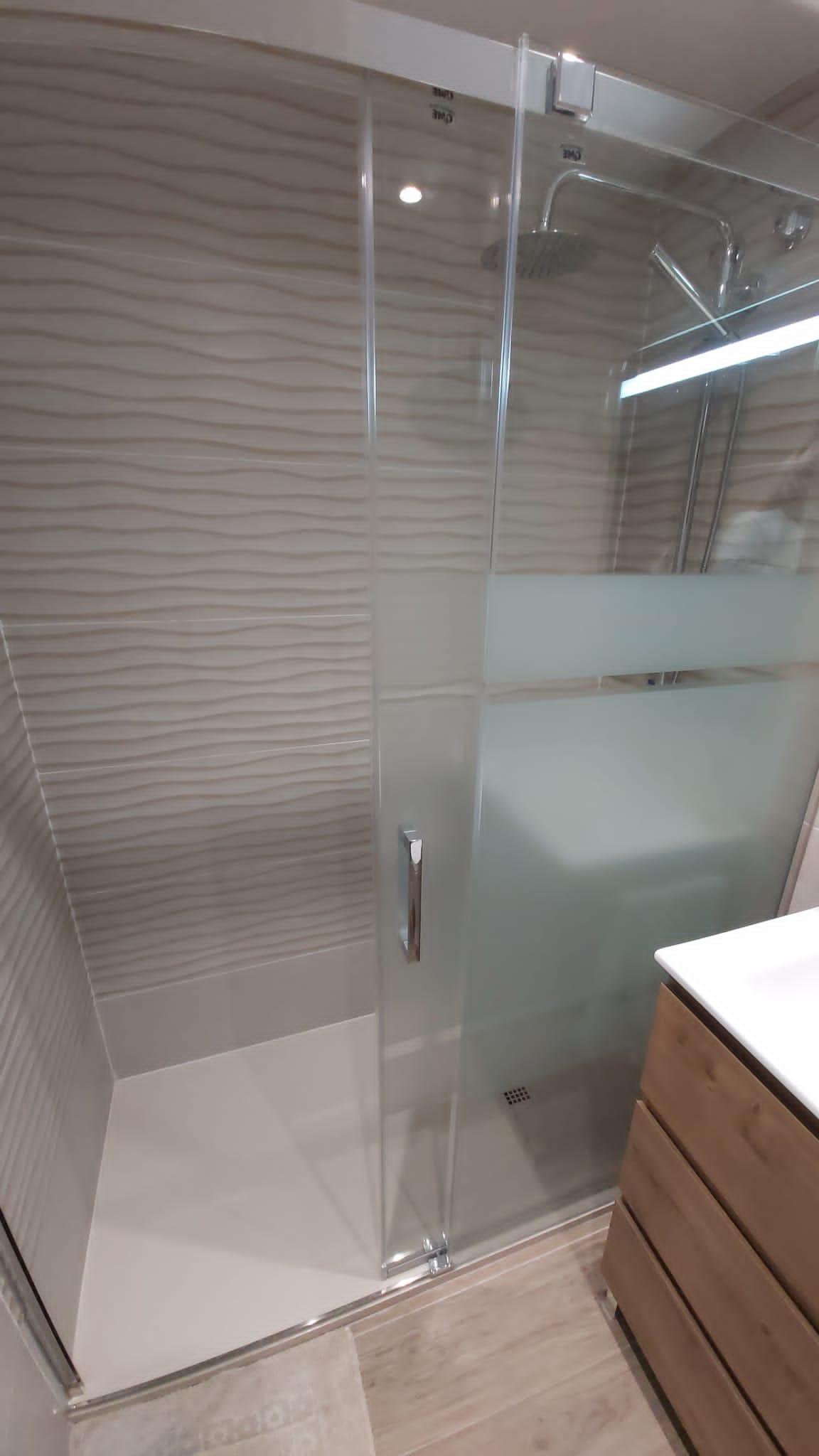 reforma mampara dutxa sant feliu